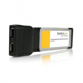 Adaptador Tarjeta FireWire 400 de 2 Puertos 6 pines ExpressCard/34 34mm 1394a