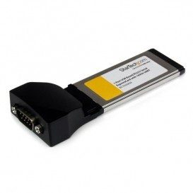 Tarjeta Adaptadora ExpressCard/34 de 1 Puerto Serie DB9 UART 16950 RS232 Express Card 34mm - Basada en USB