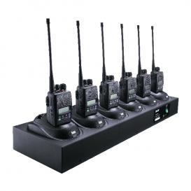 Cargador Entel CSBHX de 6 posiciones para la serie HX400