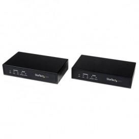 Juego Kit Extensor de Gigabit LAN Ethernet a través de Coaxial No Administrado - 2,4Km