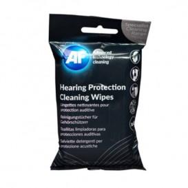Toallitas de limpieza para protección auditiva