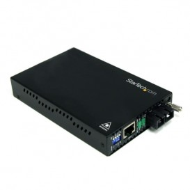 Conversor de Medios Ethernet 10/100 Mbps a Fibra Multi Modo Conector SC -2km