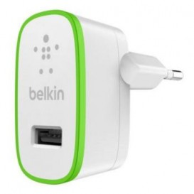 Enchufe de cargador de red Belkin blanco