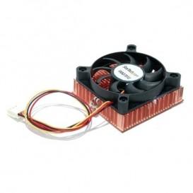 Ventola CPU con socket / Zoccolo 60x10mm 1U con dissipatore termico in rame - TX3