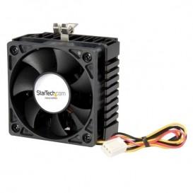 Ventola CPU Socket 7/370 65x60x45mm con dissipatore e connettore TX3