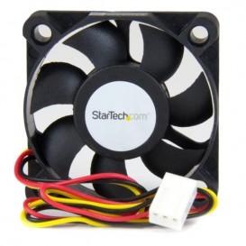 Ventilador de Repuesto para Caja de Ordenador 50x10mm con Conector TX3 y LP4 - Rodamiento de Bolas Recirculantes Ball Bearing