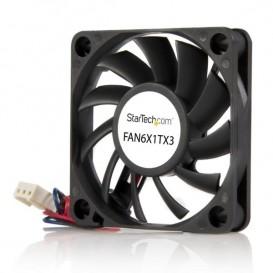 Ventilador Fan para Chasis Caja de Ordenador PC Torre - 60x10mm - Conector TX3