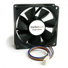 Ventilador Fan para Chasis Caja de Ordenador PC Torre - 80x25mm - Conector PWN