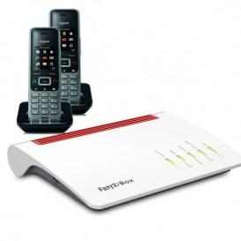 Router inalámbrico que proporciona WiFi de alta gama con 2 terminales inalámbricos Gigaset S650H Pro