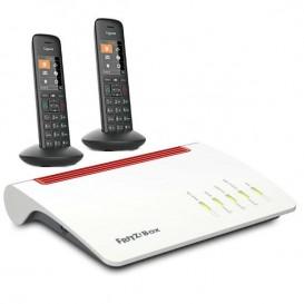 Router inalámbrico que proporciona WiFi de alta gama con 2 terminales inalámbricos Gigaset C570HX