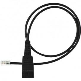 Cable P6 RJ11 para auriculares GN Netcom