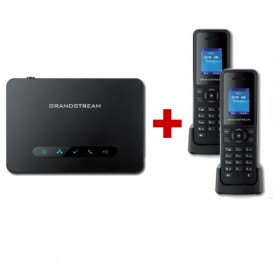 Base dect Grandstream DP750 + 2 supletorios DP720