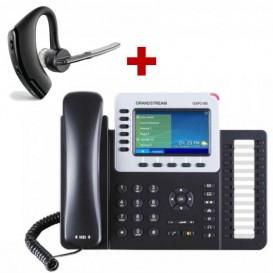 Grandstream GXP2160 + aur. Bluetooth Plantronics VOYAGER LEGEND