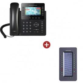 Grandstream GXP2170 + 1 extensión de telcado GRP2200 EXT
