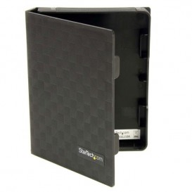 Paquete de 3 Cubiertas Protectoras - Funda de Plástico Disco Duro de 2,5in Pulgadas - Forro - Negro