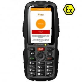 Móvil i.safe IS310.2 Atex sin cámara + App Lone Worker