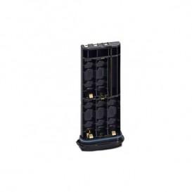 Caja porta-pilas para 5 pilas alcalinas tipo AAA para Icom IC-M35