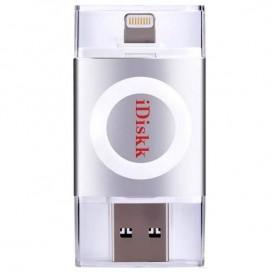 Unidad USB iDiskk Silver 32Go para iPhone
