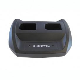Cargador Dual Konftel para baterías 300W/M