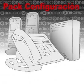 Pack configuración telefónica centralitas