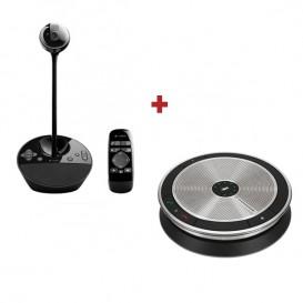 Sistema de videoconferencia Logitech BCC950 + Sennheiser SP 20 ML