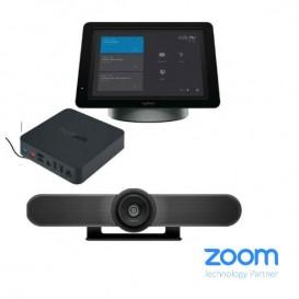 Cámara Logitech Meet-Up + SmartDock + Surface Pro 5 + Extender Box
