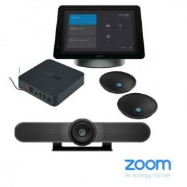 Cámara Logitech Meet-Up + SmartDock + Surface Pro 5 + Extender Box + Micrófonos de expansión
