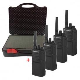 4 x Motorola XT420 con maleta