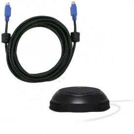 Micrófono AVer con cable de 10 m