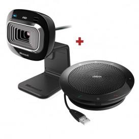 Pack Microsoft Lifecam HD 3000 + Altavoz Jabra Speak 510