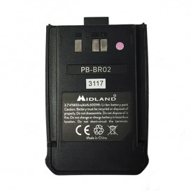 Batería de recambio para Midland BR-02