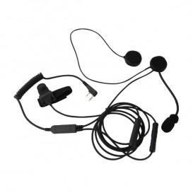 Kit micro-auricular Mitex Open Face Helmet