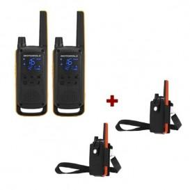 Motorola Talkabout T82 Extreme + 2x Fundas de protección
