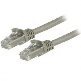 Cavo di rete CAT 6 - Cavo Patch Ethernet RJ45 UTP Grigio da 10 m  antigroviglio