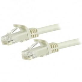 Cavo di rete CAT 6 - Cavo Patch Ethernet RJ45 UTP bianco da 5m antigroviglio