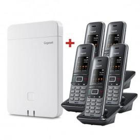 Gigaset N870 IP Pro Base DECT + Gigaset S650H Pro