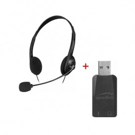 PACK Auriculares Accordo + Adaptador USB