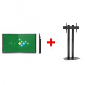 "Pantalla interactiva VSeven de 86"" con Kit de soporte"