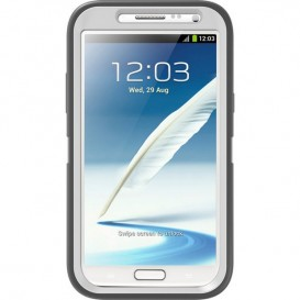 Funda OtterBox Defender para Samsung Note 2 Blanco