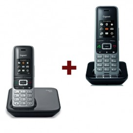 Teléfono Gigaset S850 + Supletorio S650H