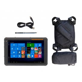 Tablet Thunderbook Titan W100 T1020G Pack: con bolígrafo capacitivo, cable magnetico y soporte 5en1