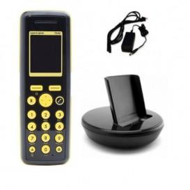 Spectralink 7642: teléfono + cargador + alimentador
