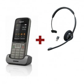 Gigaset SL750 H Pro + Auricular Cleyver HW60 UC