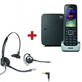 Gigaset SL450 Negro + Auricular OD HC10