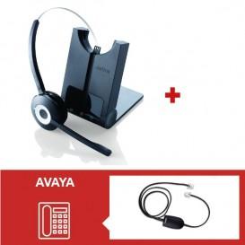 Jabra PRO 920 + Descolgador electrónico para Avaya AV2