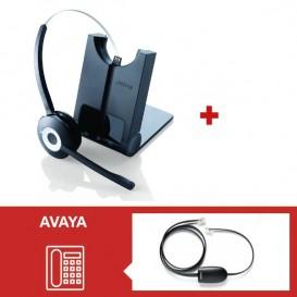 Jabra Pro 920 + descolgador para teléfonos Avaya AV1