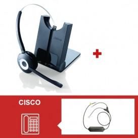 Jabra PRO 920 + Descolgador electrónico para teléfonos Cisco