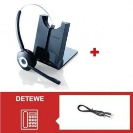 Jabra PRO 920 + Descolgador para teléfonos DeTeWe
