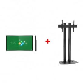 "Pantalla interactiva VSeven de 75"" con Kit de soporte"