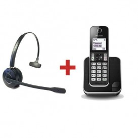 Panasonic KX-TGD310 + Cleyver HW10